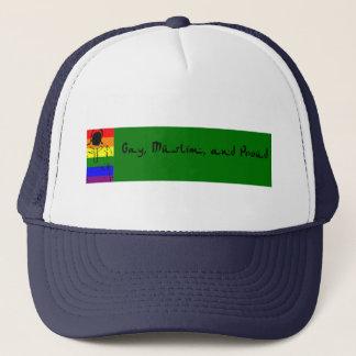 ゲイ、イスラム教および誇りを持った キャップ