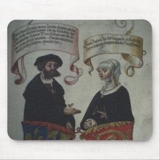 ゲオルグFugger彼の妻レジーナImhoff、「Geheim マウスパッド