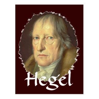ゲオルグHegel哲学者 ポストカード