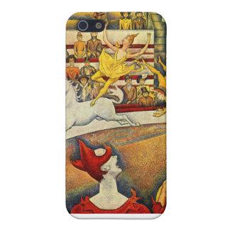 ゲオルゲスSeurat著Le Cirque (サーカス) iPhone SE/5/5sケース
