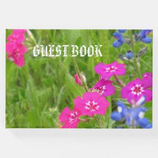 ゲストブック、花柄 ゲストブック
