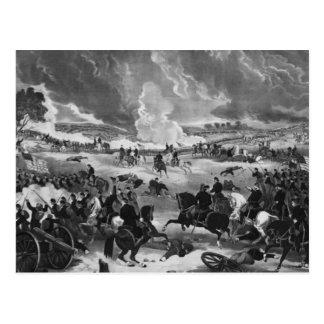 ゲティスバーグの戦いのイラストレーション ポストカード
