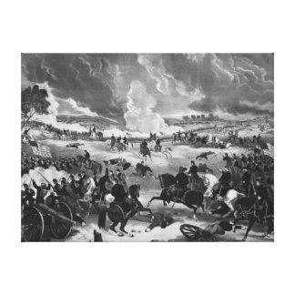 ゲティスバーグの戦いの絵 キャンバスプリント