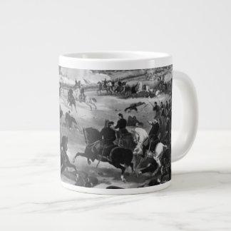ゲティスバーグの戦いの絵 ジャンボコーヒーマグカップ