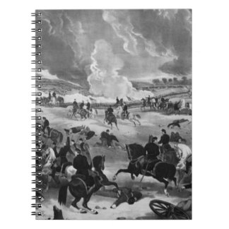 ゲティスバーグの戦いの絵 ノートブック