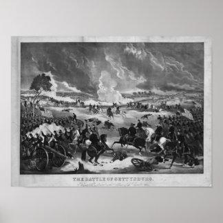 ゲティスバーグの戦いの絵 ポスター