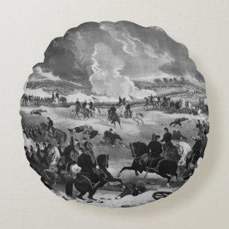 ゲティスバーグの戦いの絵 ラウンドクッション