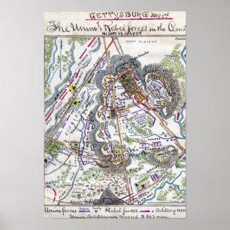 ゲティスバーグの戦い ポスター