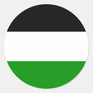ゲルゼンキルヘン、ドイツの旗 ラウンドシール