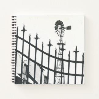 ゲートで制御された風車 ノートブック