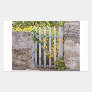 ゲート 長方形シール