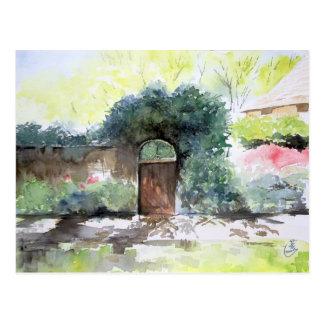 ゲート- Englisの家の財産、アナーバーMI 葉書き