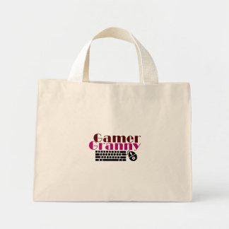 ゲーマーのおばあさん ミニトートバッグ