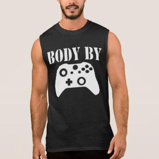 ゲーマーのワイシャツ 袖なしシャツ