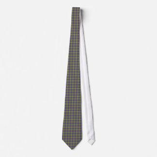ゲーマーの格子縞2のタイ ネクタイ