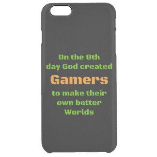 ゲーマーの賭博のIphoneの場合 クリア iPhone 6 Plusケース