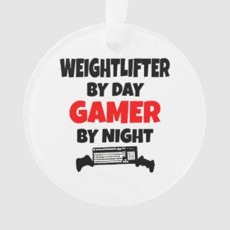 ゲーマーの重量挙げ選手 オーナメント