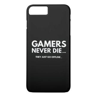 ゲーマーは決して死にません… 彼らはちょうどオフラインになります iPhone 8 PLUS/7 PLUSケース
