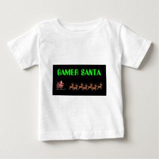 ゲーマーサンタ ベビーTシャツ