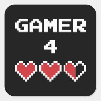 ゲーマー4の生命 スクエアシール