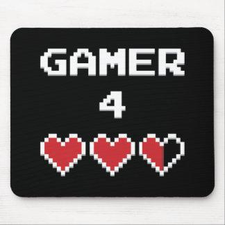 ゲーマー4の生命 マウスパッド