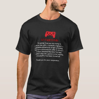 ゲーマーPSAのTシャツ Tシャツ