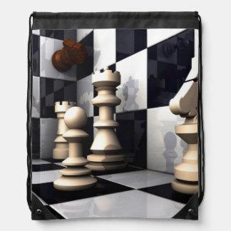ゲームのチェスの趣味 ナップサック