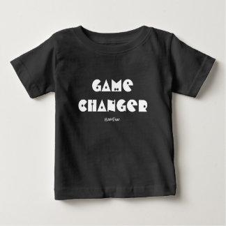 ゲームのチェンジャーのベビーのTシャツ ベビーTシャツ