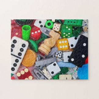 ゲームの部分の写真のパズル ジグソーパズル
