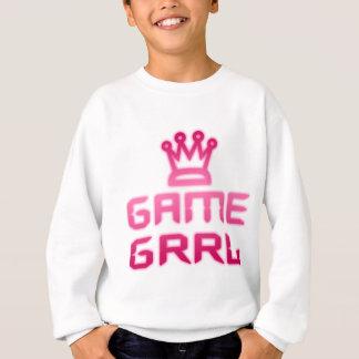 ゲームのgrrl スウェットシャツ