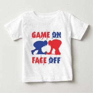 ゲームは、直面します ベビーTシャツ