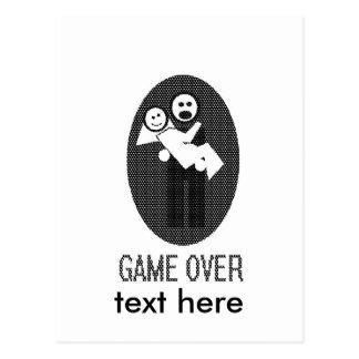 ゲーム ポストカード