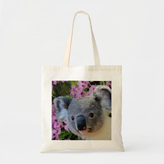 コアラおよび蘭 トートバッグ