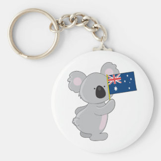 コアラのオーストラリア人の旗 キーホルダー