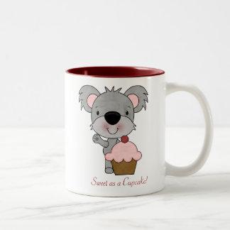 コアラのバレンタインのマグ ツートーンマグカップ