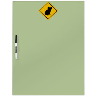 コアラの交通標識 ホワイトボード