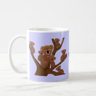 コアラの先生の教室のマグ コーヒーマグカップ