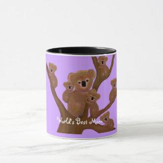 コアラの最も最高のなお母さんのマグ マグカップ