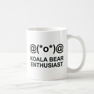 コアラの熱狂者 コーヒーマグカップ