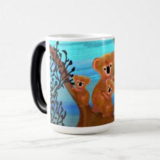コアラの生息地のマグ マジックマグカップ