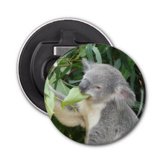 コアラの食べ物のゴムの葉 栓抜き