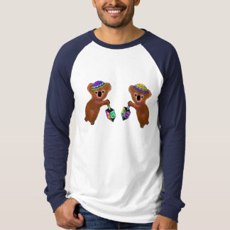 コアラのDreidelのゲームのワイシャツ Tシャツ