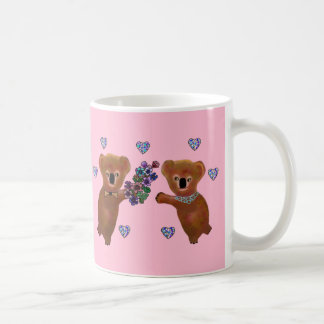 コアラはlove コーヒーマグカップ