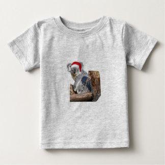コアラサンタ ベビーTシャツ