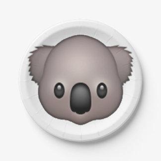 コアラ- Emoji ペーパープレート