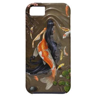 コイの人魚 iPhone SE/5/5s ケース