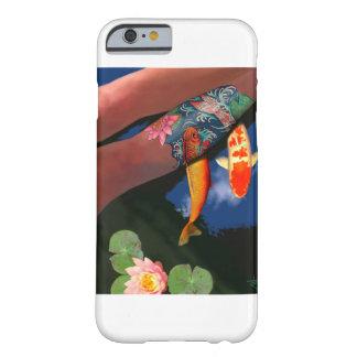 コイの入れ墨ユリの池の電話箱 BARELY THERE iPhone 6 ケース