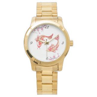 コイの池 腕時計