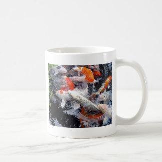 コイの群集 コーヒーマグカップ