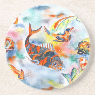コイの魚のコースター コースター